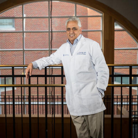 In an editorial in CNS Spectrums, Dr. Jay Avasarala advocates for increased minority representation in clinical trials for MS drugs. Photo | Mark Mahan