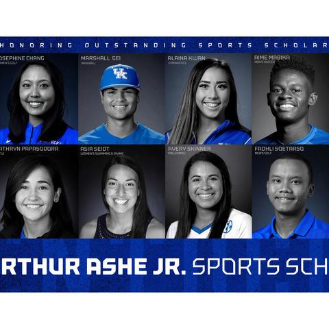 photo of UK's 12 2019 Arthur Ashe Jr. Sports Scholars