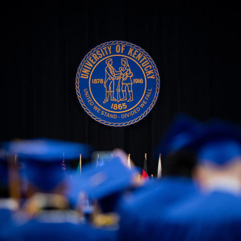 The University of Kentucky's commencement ceremony on May 3, 2019 at Rupp Arena.