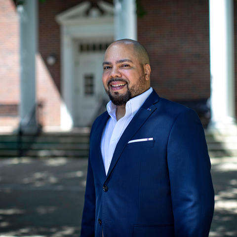 This is a photo of new UK College of Education Dean Julian Vasquez Heilig.
