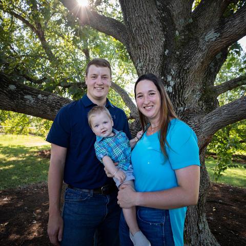 Photo of McCamish family