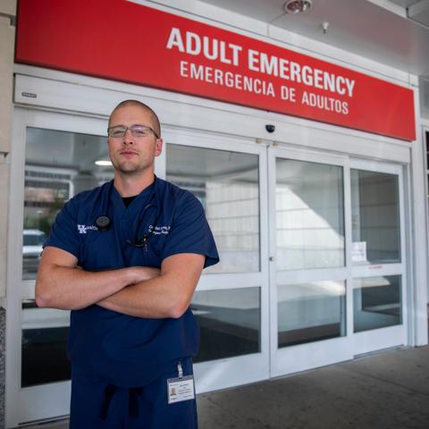 Dr. J. Daniel Moore, UK Chandler Hospital Emergency Department