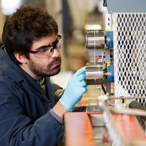 photo of Ruben Sarabia-Riquelme, Research Engineer