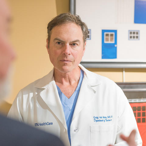 Photo of Craig van Horne of UK HealthCare's Kentucky Neuroscience Institute