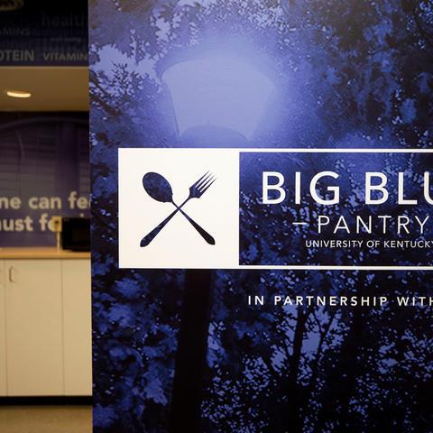 photo of UK Big Blue Pantry