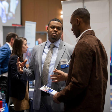 Photo of Career Fair