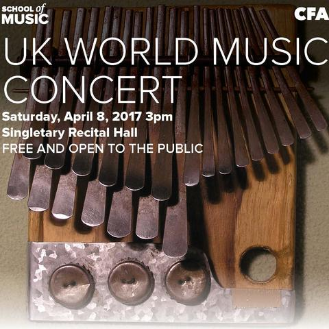 photo of poster for 2017 UK World Music Concert