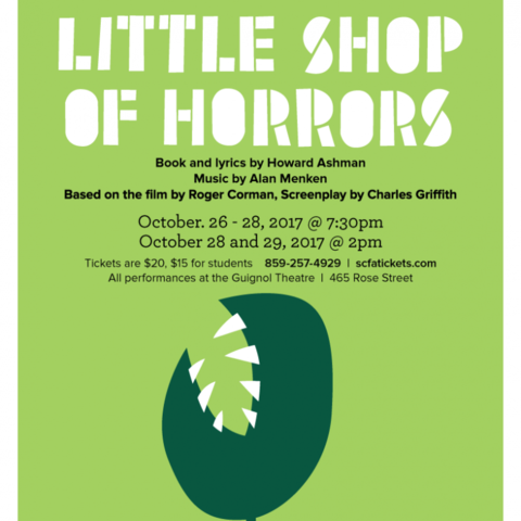 """Little Shop of Horrors"" poster"
