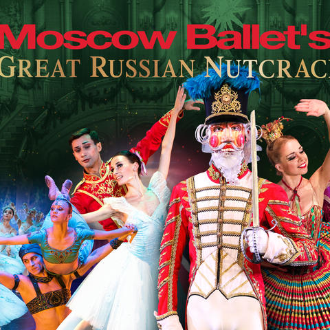 "photo of Moscow Ballet's ""Great Russian Nutcracker"" 25th banner"