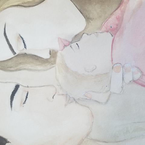 Illustration for art show