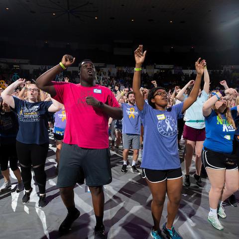dancers at 2019 DanceBlue