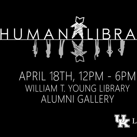 photo of Human Library flyer