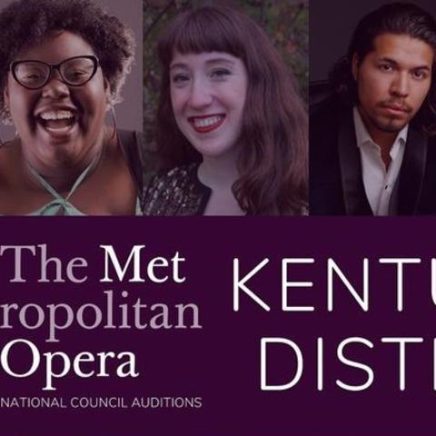 2020 Kentucky District Metropolitan Opera audition winners