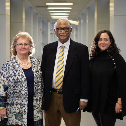 The Saha Foundation was established in 1999 by Dr. Sibu and Becky Saha. Its mission is to promote research and education of cardiovascular disease in the Commonwealth of Kentucky.