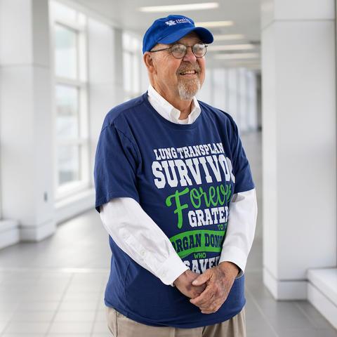 Photo of patient Larry Dukes