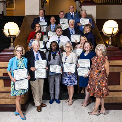 photo of UK Alumni Association club award recipients