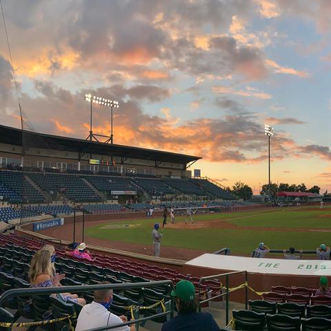 panoramic photo of Legends ballpark