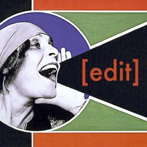 photo of Art+Feminism Wikipedia Edit-a-thon artwork