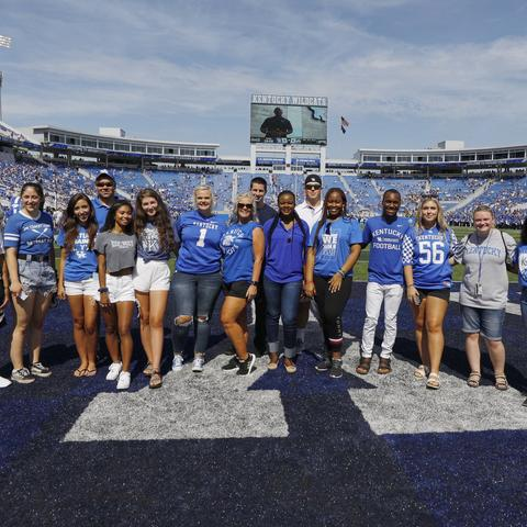 UK recognizes largest freshmen class in history.