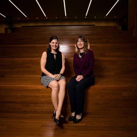 Alison Davis & SuZanne Troske. Pete Comparoni | UK Photo