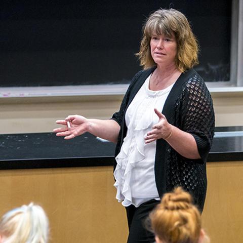 photo of Kalea Benner, University of Kentucky College of Social Work.