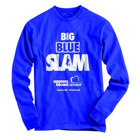 photo of Big Blue Slam long-sleeved T-shirt