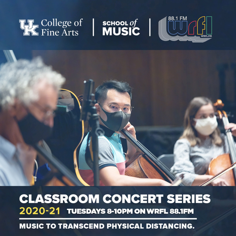 web box for Classroom Concert Series on WRFL