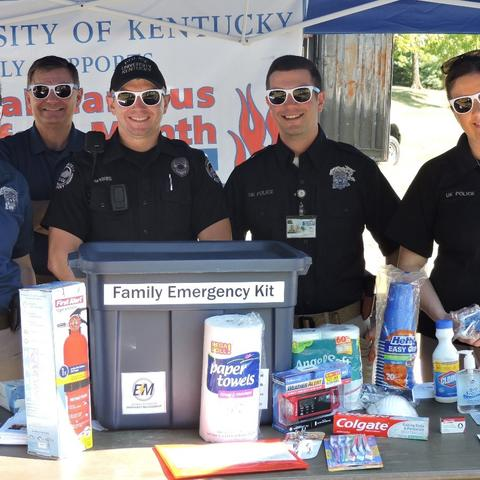 photo from 2016 Campus Safety Fair