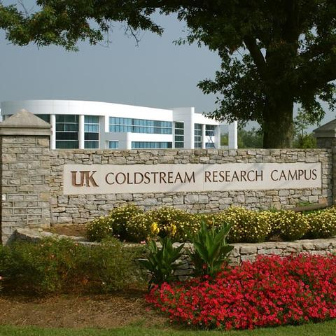 photo of Coldstream Research Campus sign