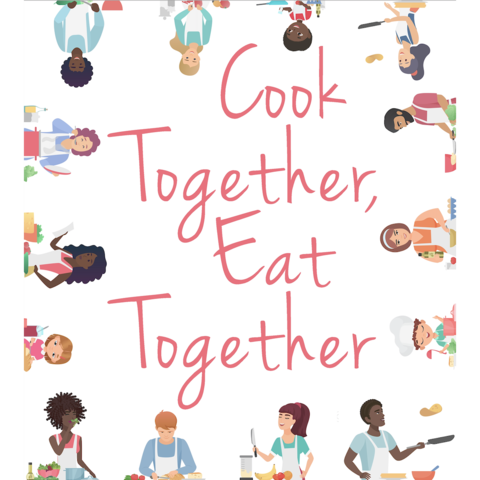 """Cook Together, Eat Together"" cover art"