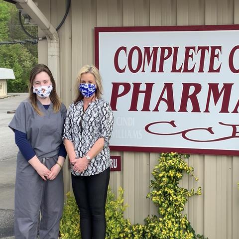 Cindi and Taylor Williams, Pharmacists