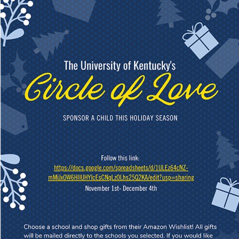 Circle of Love digital flyer