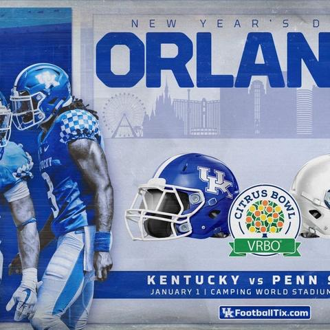 photo of Citrus Bowl graphic
