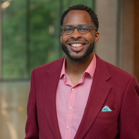 Corey Baker is an assistant professor in the Department of Computer Science.