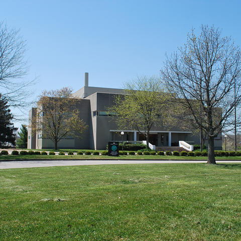 photo of CAER lab building