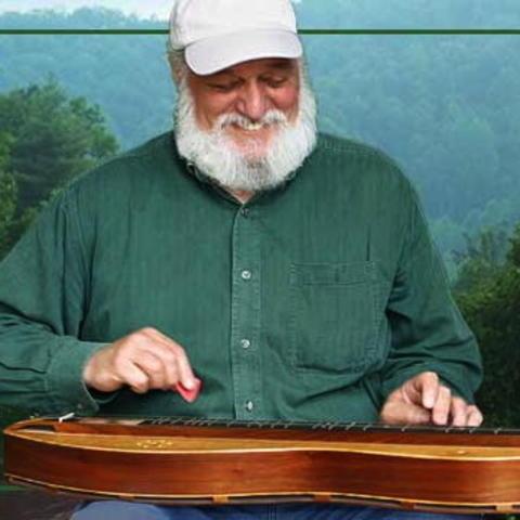 photo of Don Pedi playing dulcimer