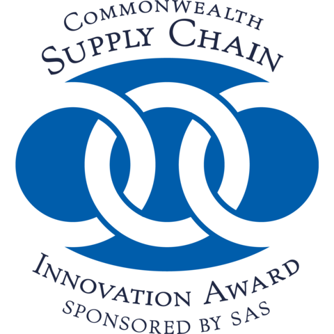 image of logo for SAS Commonwealth Supply Chain Innovation Award
