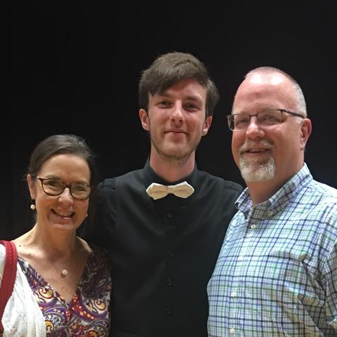 photo of Sue Ellen, Jake and Mickey Ballard