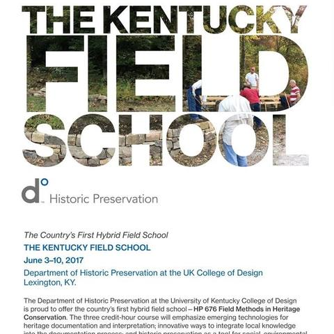 photo of Kentucky Field School email blast