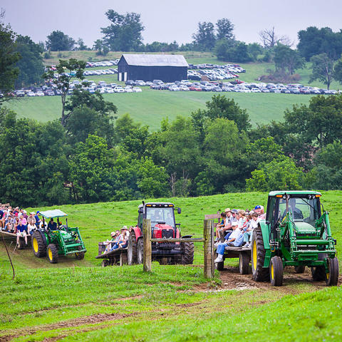photo of Farm-City Field Day