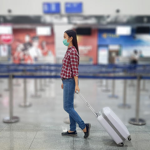 Photo of Woman in the Airport