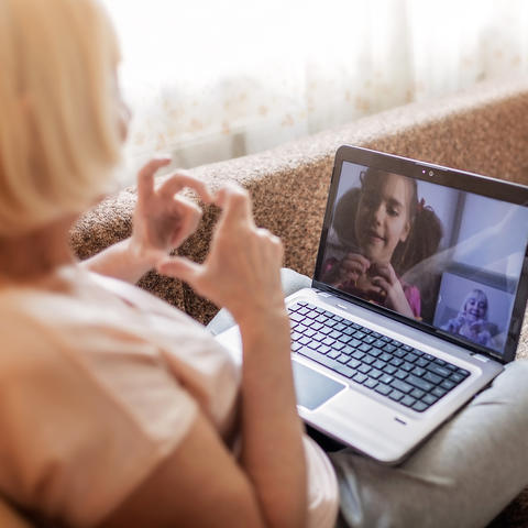 Getty Image of Video Call