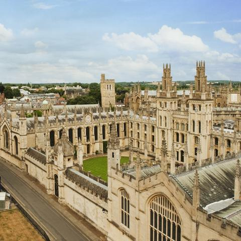 stock photo of Oxford University