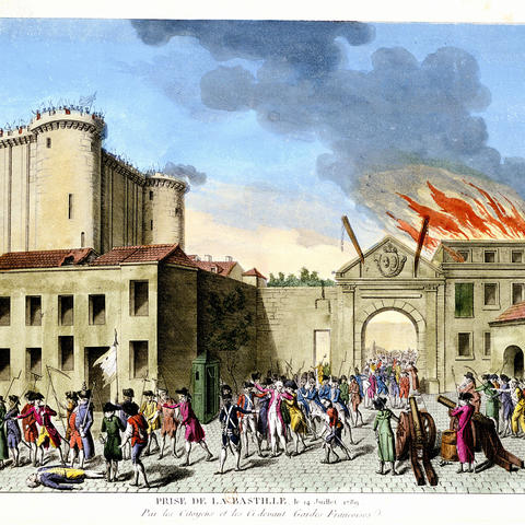 Stock Photo of the French Revolution