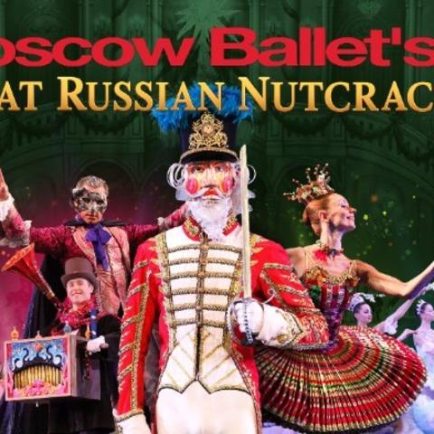 "photo of web banner for Moscow Ballet's ""Great Russian Nutcracker"""