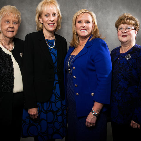 Photo of 2017 inductees into the UK College of Nursing Hall of Fame