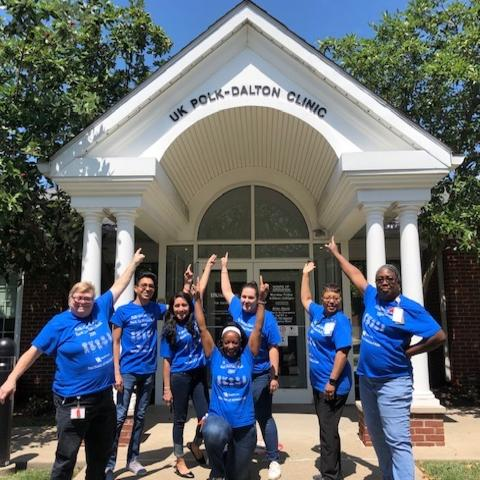 Photo of staff at UK Polk-Dalton Clinic
