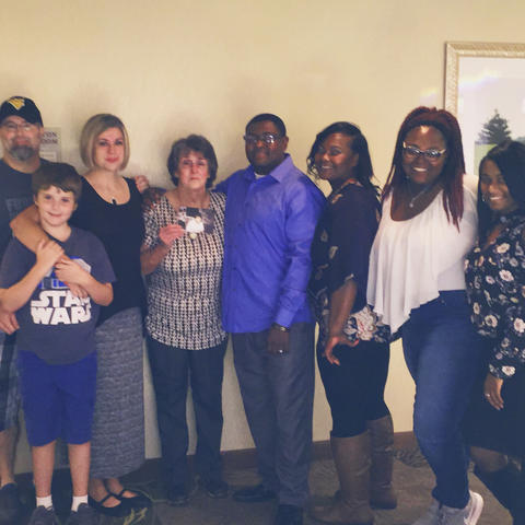 The Webster and Maris families
