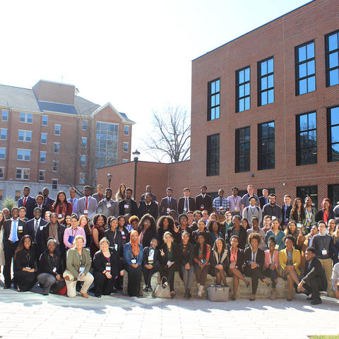 photo of KY-WV LSAMP students