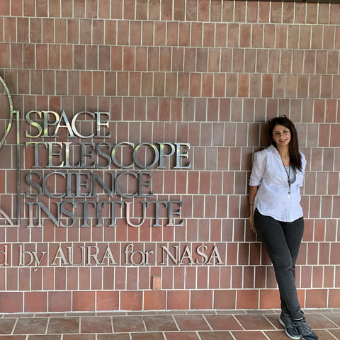 photo of Maryam Deghanian at Space Telescope Science Institute